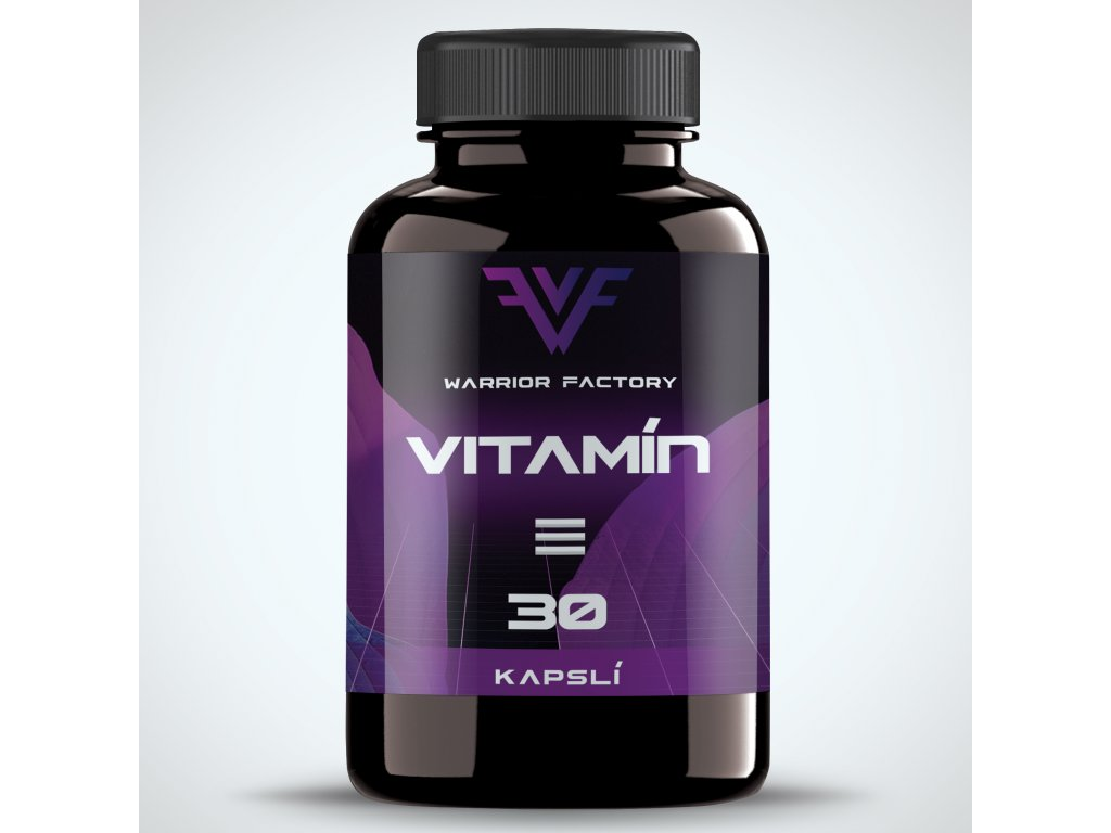 42381 warrior factory vitamin e 30 kapsli