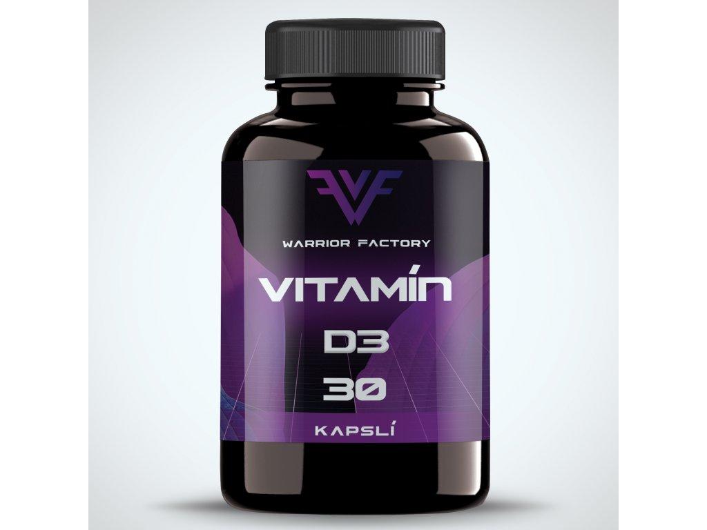 42429 warrior factory vitamin d3 30 kapsli