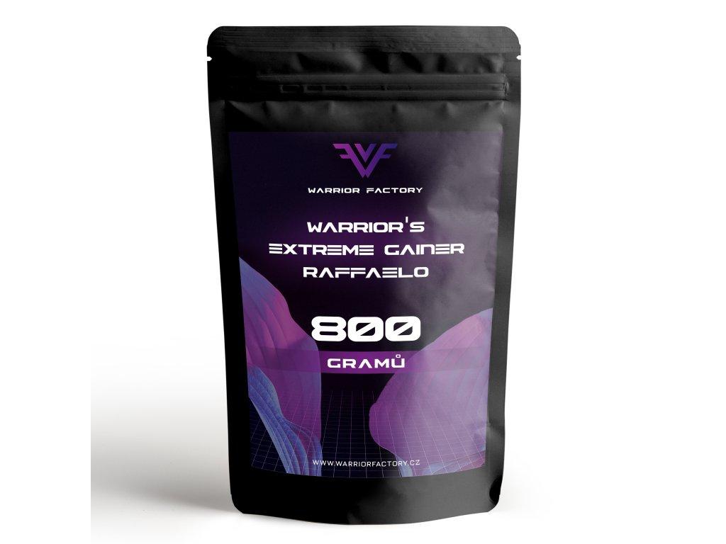 Warrior Factory WARRIOR´S EXTREME GAINER 800 G PŘEDNÍ