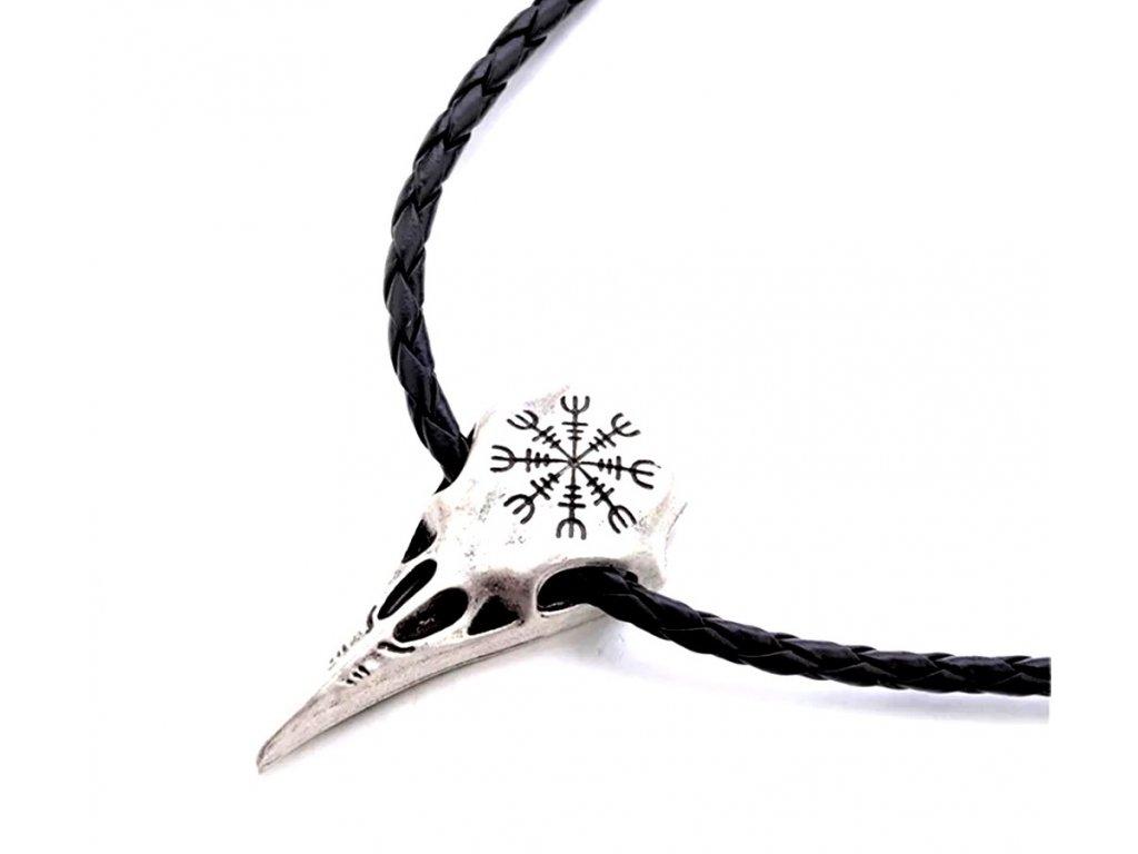 42567 warrior factory privesek raven skull