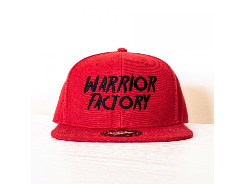 42675 warrior factory original snapback red black