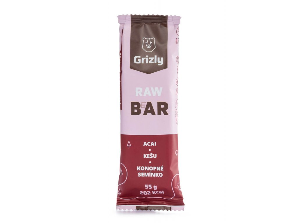 42702 grizly raw bar 55 g acai kesu konopne seminko