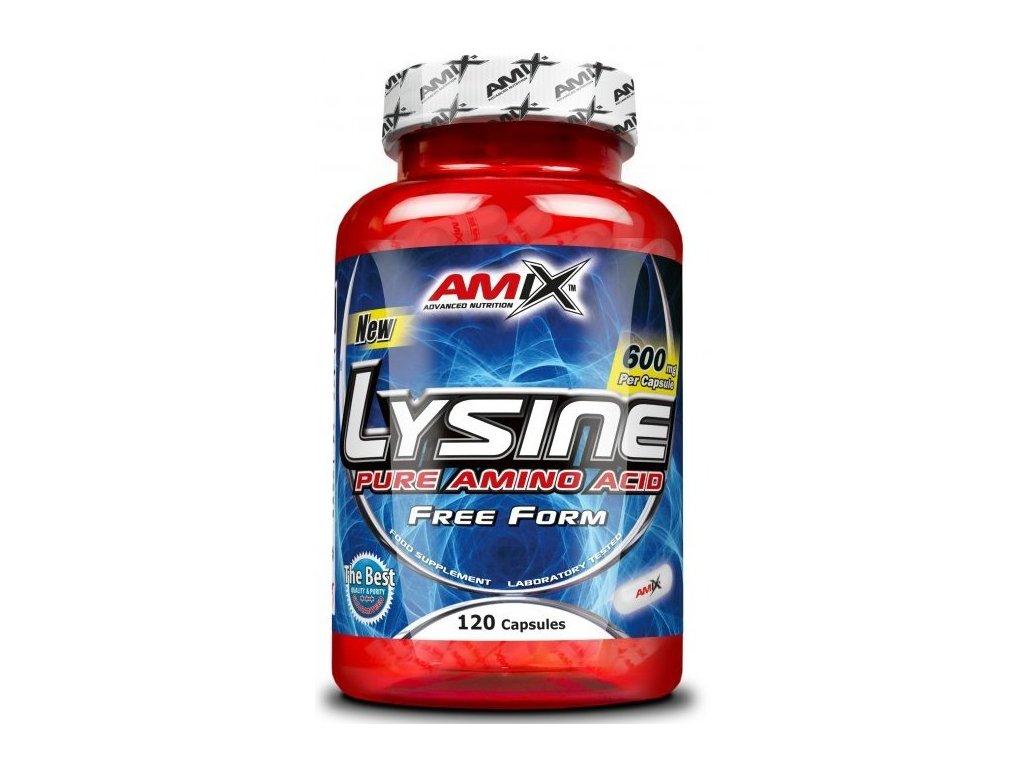 Amix L-Lysine 600mg 120kapslí