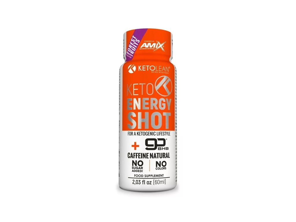 Amix KetoLean Keto goBHB Energy Shot 60ml
