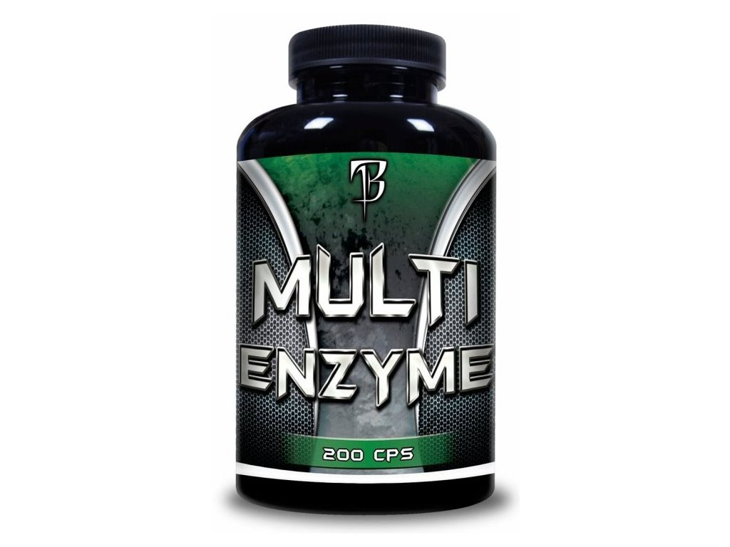 BodyFlex Fitness Multi Enzyme 200 kapslí
