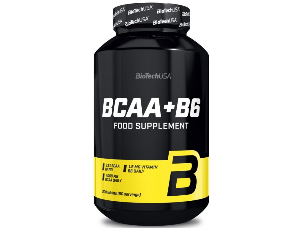 BioTech BCAA+B6 200tablet
