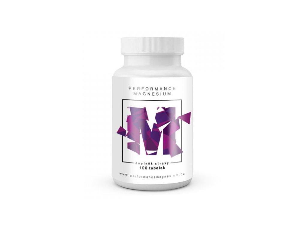BrainMax Performance Magnesium 1000 mg (Hořčík + Vitamín B6) 100kapslí