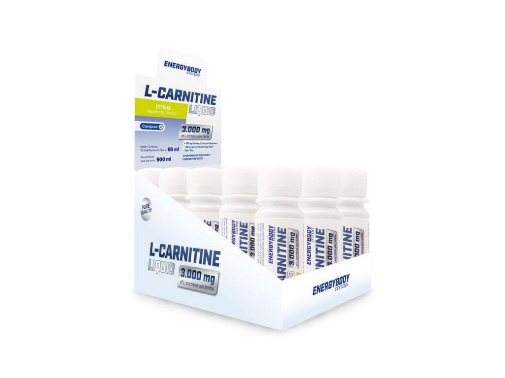 EnergyBody L-Carnitine Liquid 3000mg 15×60ml