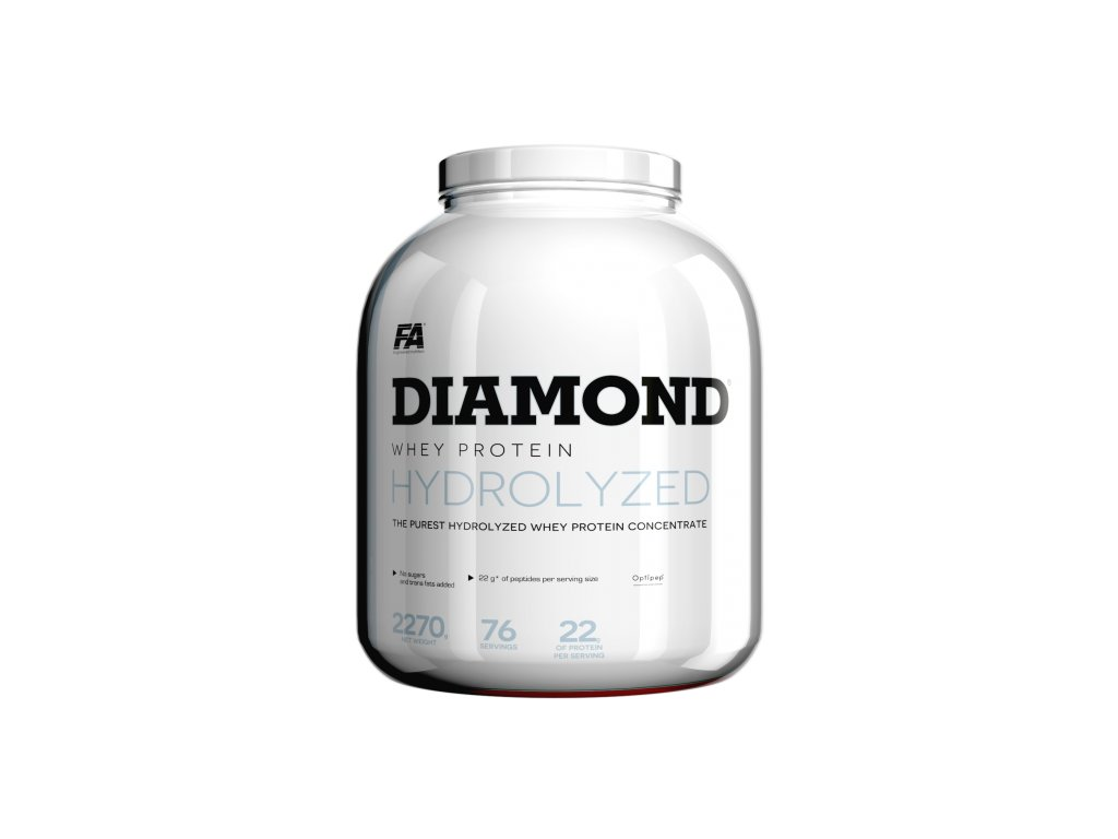 Fitness Authority Diamond Hydrolysed Whey Protein 2270 g