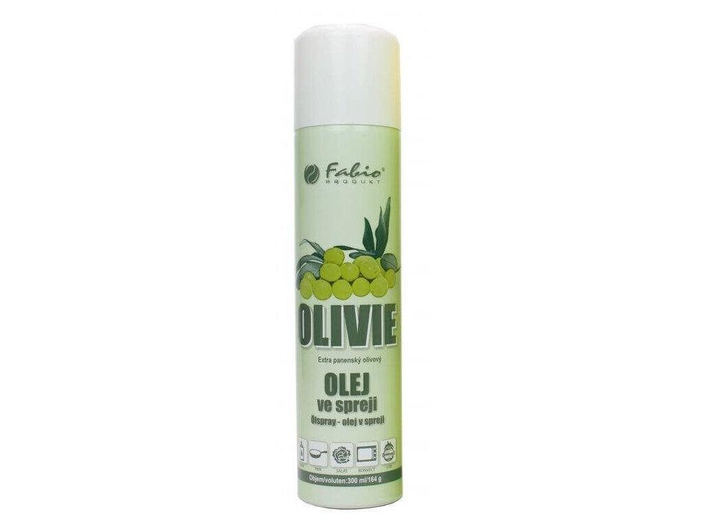 Fabio Olivový olej ve spreji Olivie 300 ml