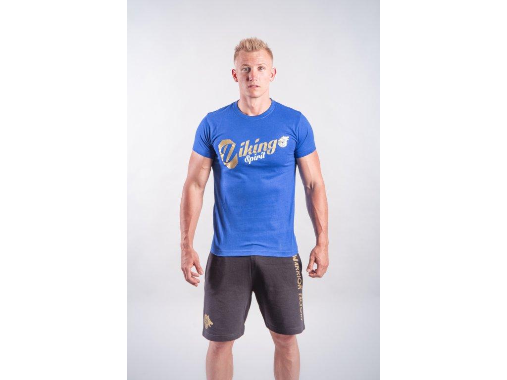 Pánské tričko Viking Spirit Blue