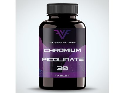 42378 warrior factory chromium picolinate 30 tablet