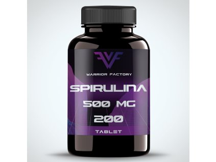 42387 warrior factory spirulina 500 mg 200 tablet