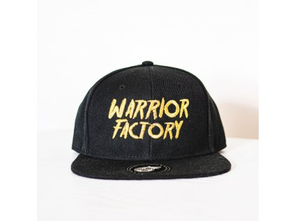 42615 warrior factory original snapback black golden