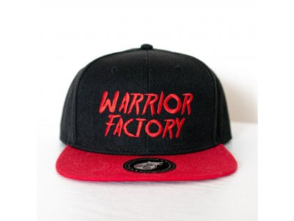 42669 warrior factory original snapback black red