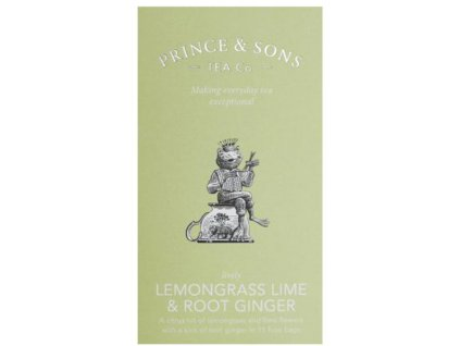 Prince and Sons Lemongrass Lime & Root Ginger 15 sáčků 37,5 g