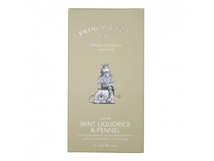 Prince and Sons Mint Tea 15 sáčků 30 g