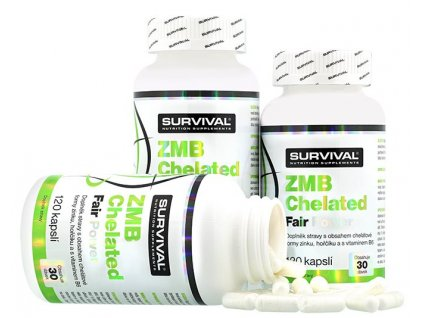 Survival ZMB Chelated Fair Power 120 kapslí