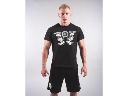 Pánské tričko BERSERKER Black/White