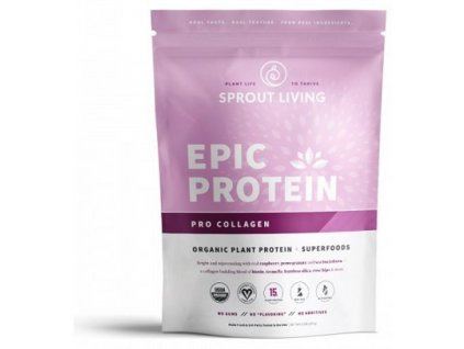 Sprout Living Epic protein organic Pro Collagen 364 g