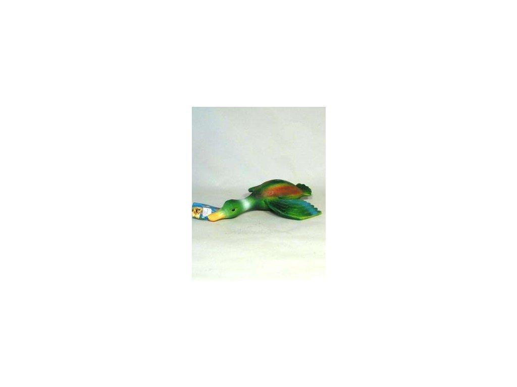Hračka pes Kachna latex pískací 30cm