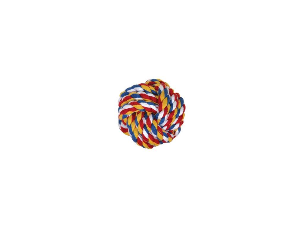 Hračka pes Míč splétaný bavlna 6cm