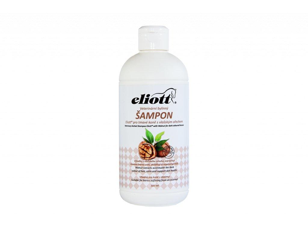 Veterinární bylinný šampon Eliott s vlašským ořechem