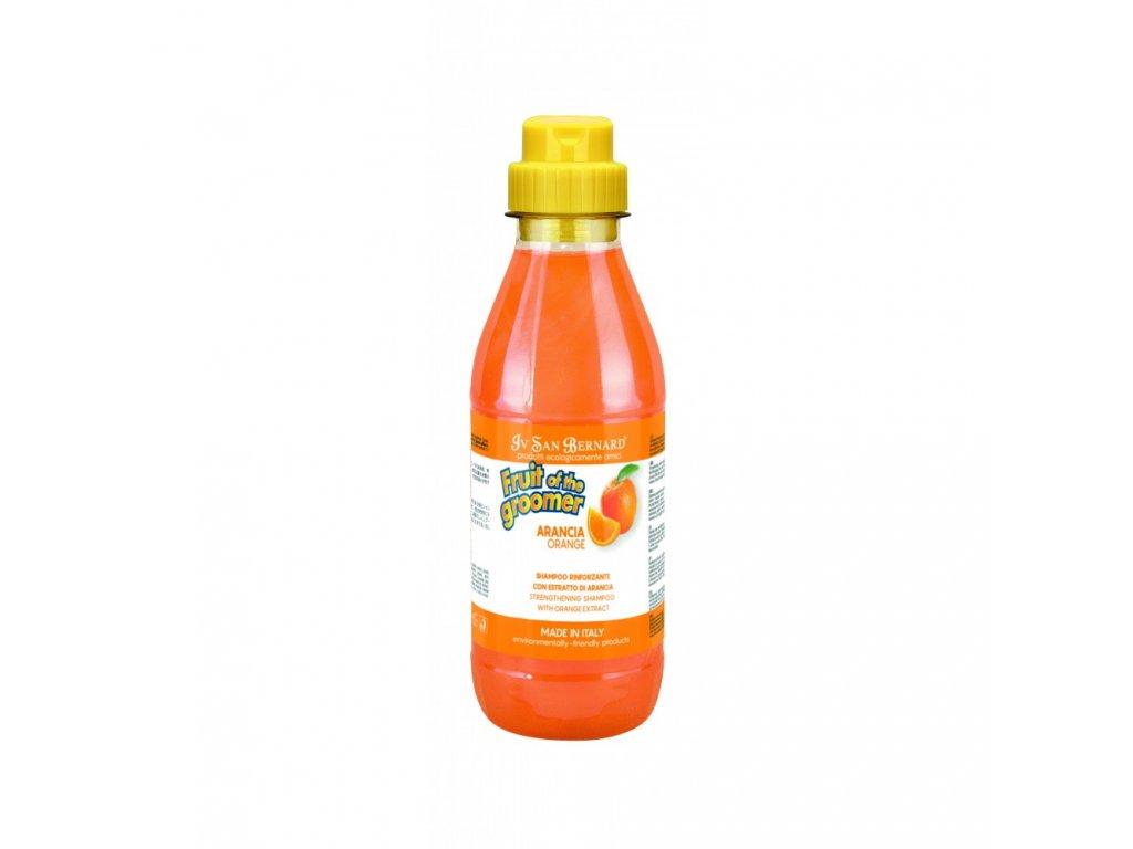 sampon arancia pomeranc pro suchou matnou srst