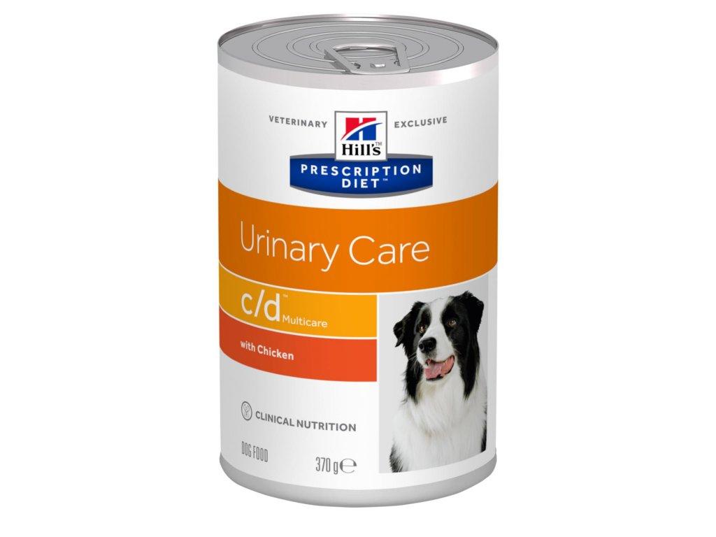 Hill's Canine C/D konzerva 6 x 370 g