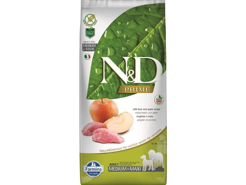 N&D PRIME DOG Adult M/L Boar & Apple