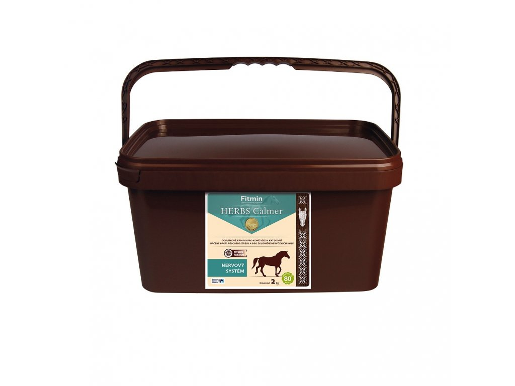 fitmin horse herbs calmer 2 kg h L