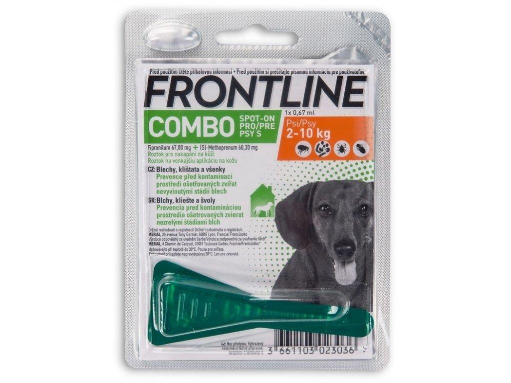 frontline combo dog s