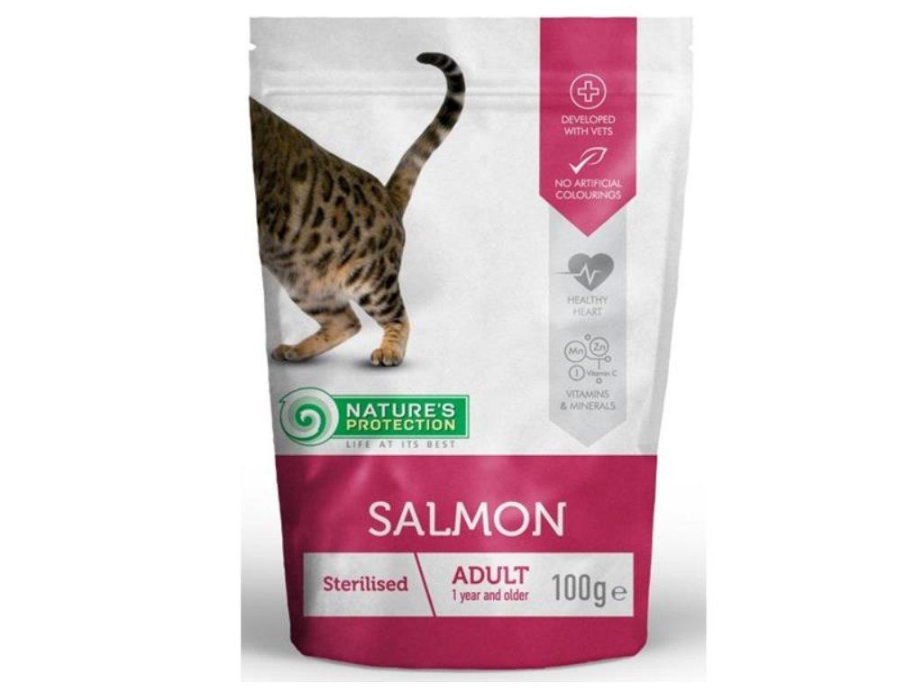 sterilised salmon