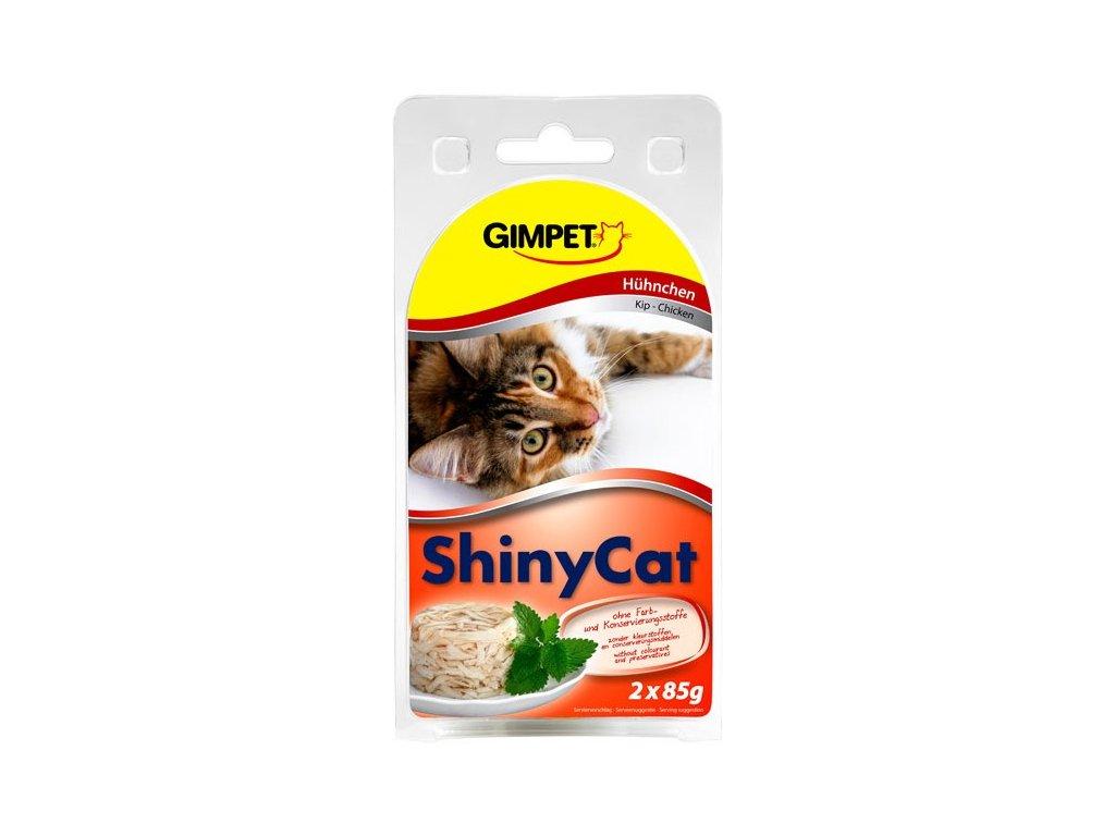 Gimpet Shiny Cat kuře 2x70g