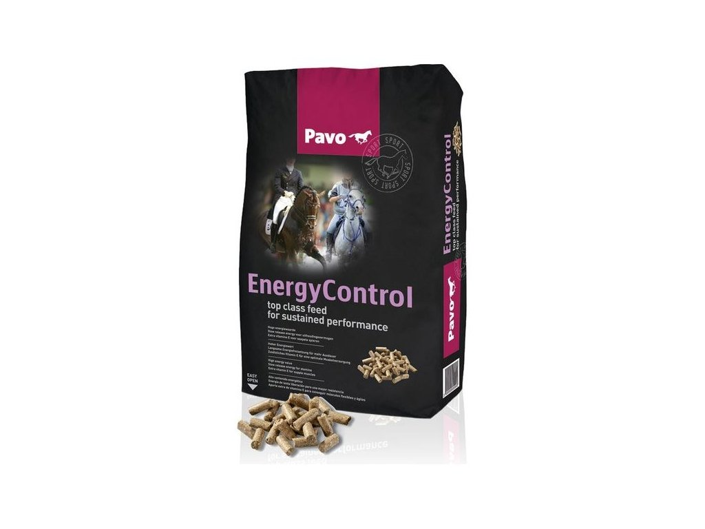 krmivo pro kone pavo energy control 20kg