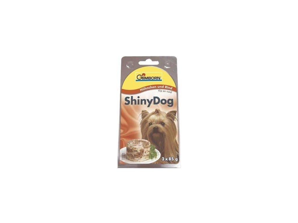 Gimborn Shiny Dog tuňák/hovězí 2x85g