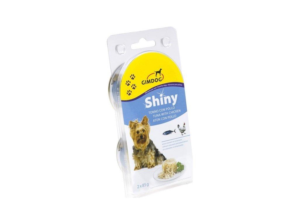 Gimborn Shiny Dog tuňák/kuře 2x85g