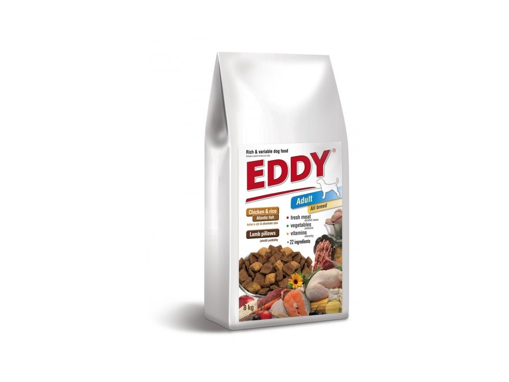 EDDY Adult All Breed kuřecí polštářky s jehněčím
