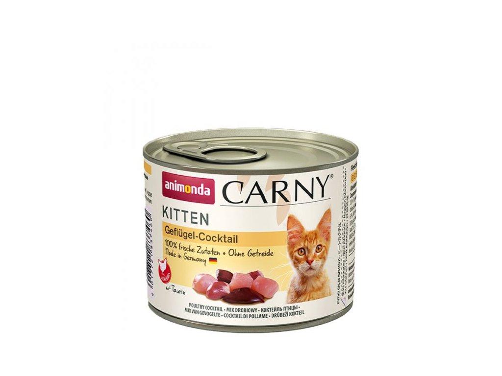 Animonda Carny Kitten drůbeží 6 x 200g