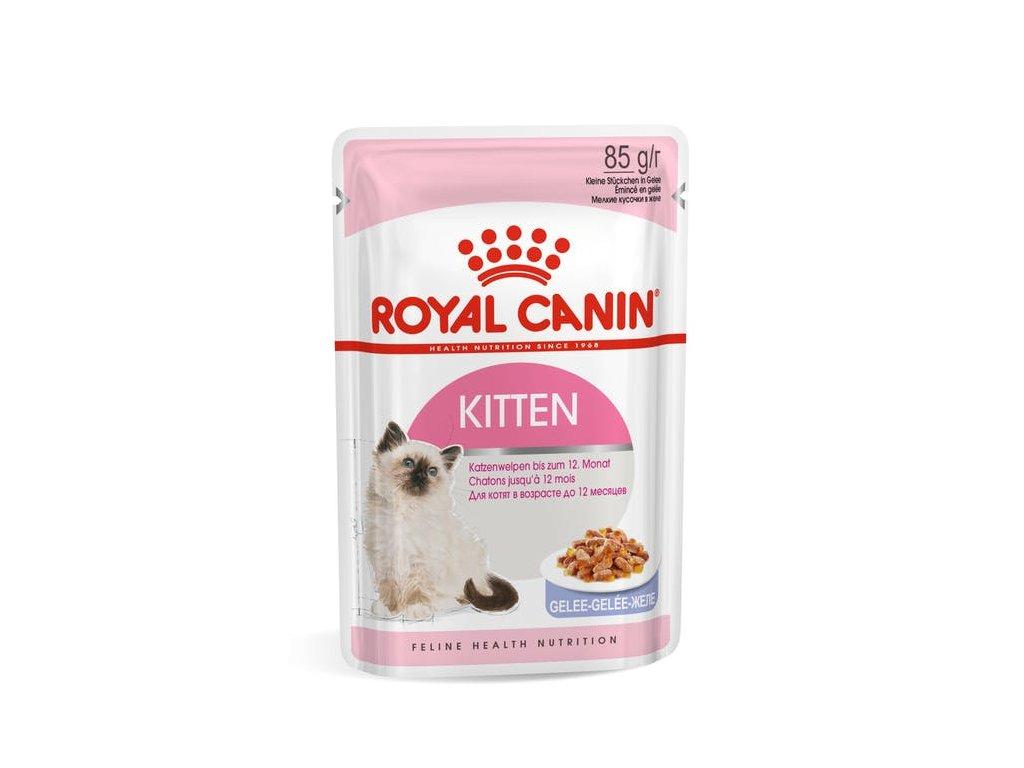 Royal Canin Cat kapsička Kitten Instinctive v želé 85 g