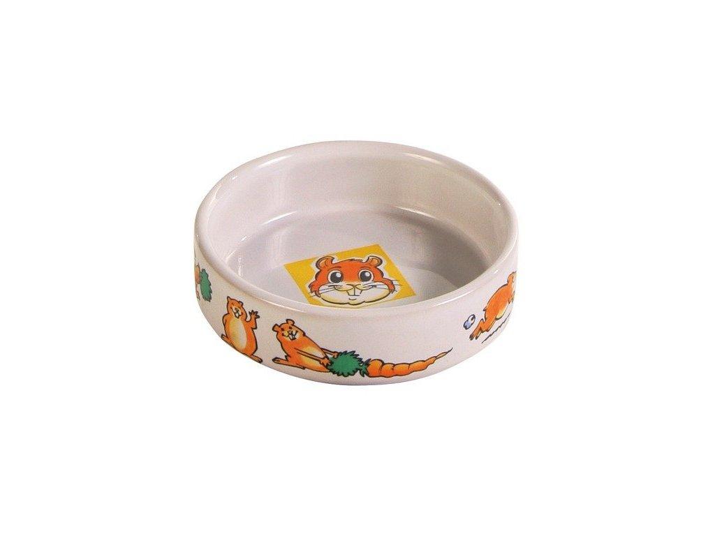 Trixie Miska porcelánová křeček 8cm/90ml