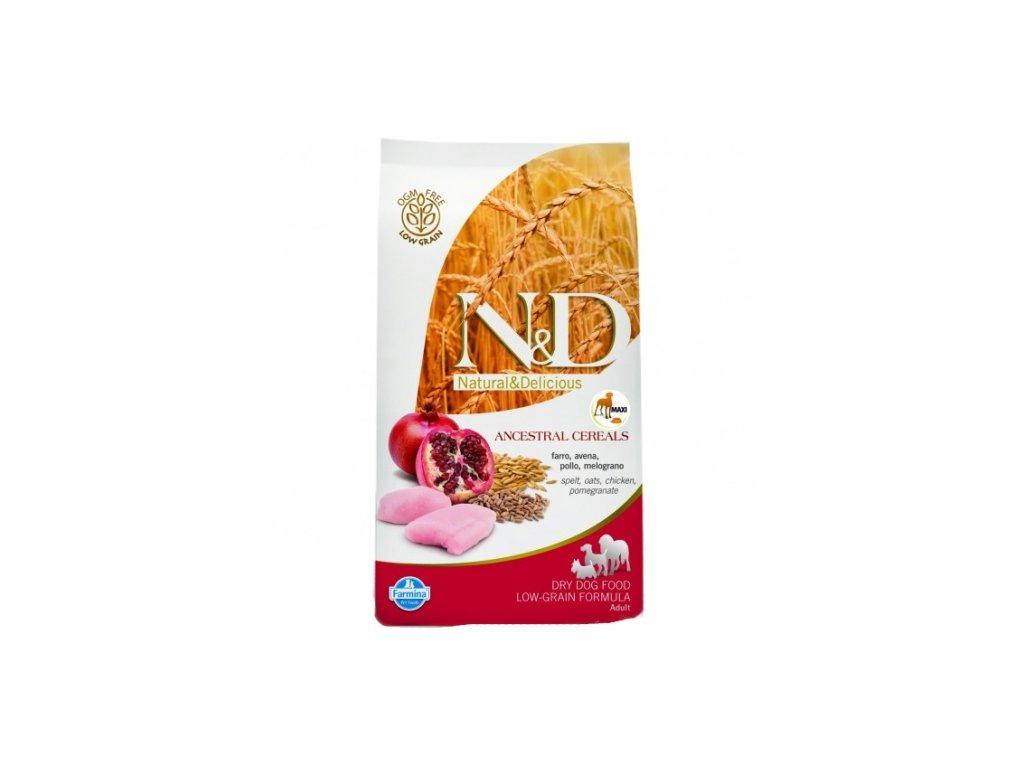 N&D LG DOG Adult Mini Chicken & Pomegranate