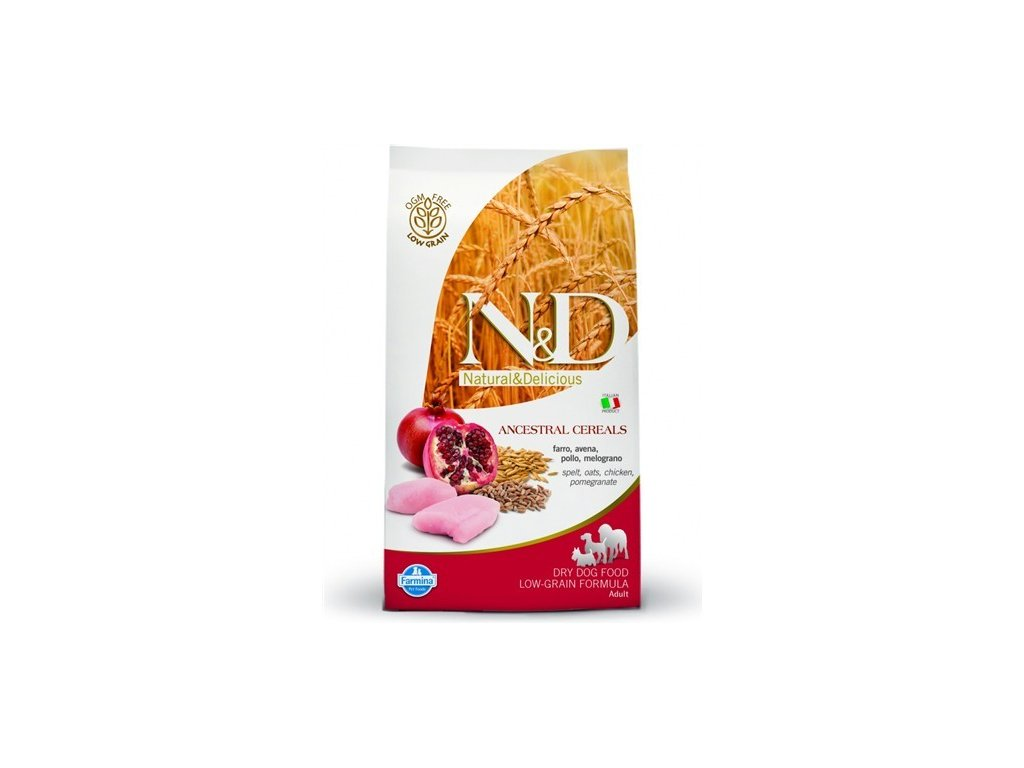 N&D LG DOG Light Mini Chicken & Pomegr