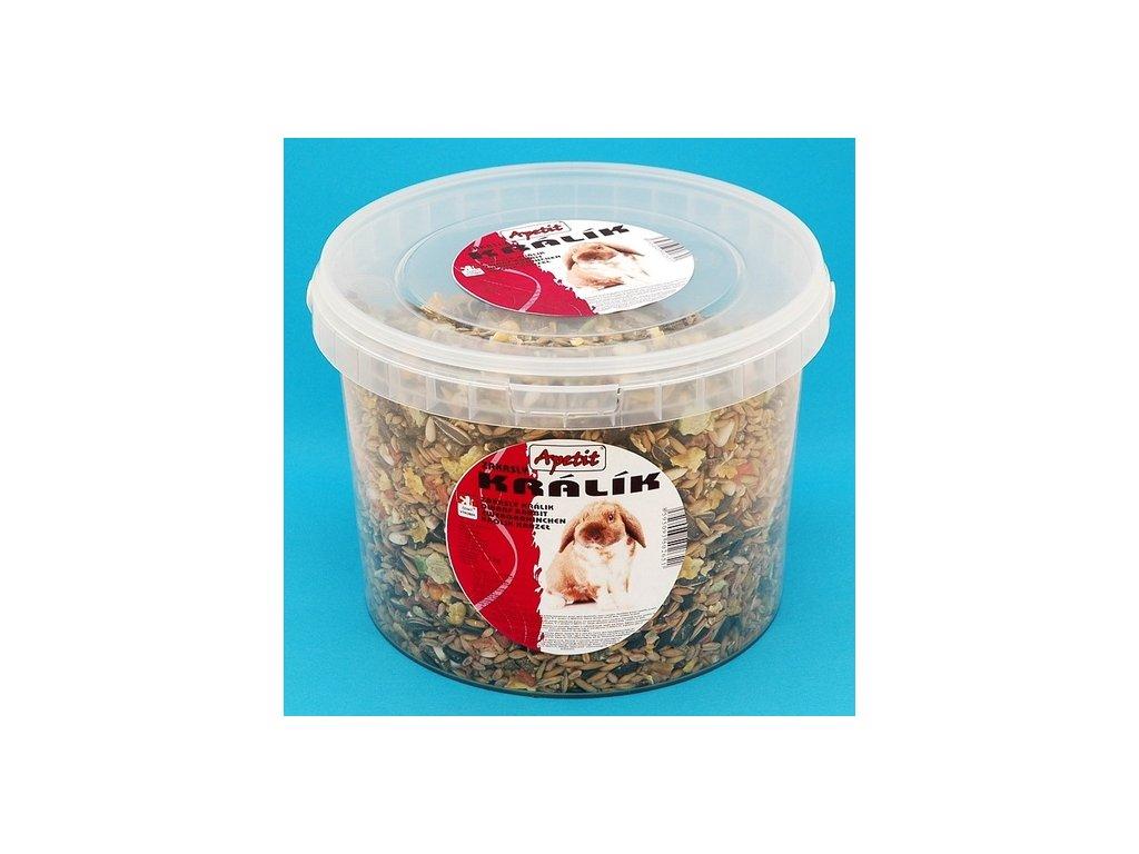 Apetit ZK - Zakrslý králík 1,7 kg kbelík
