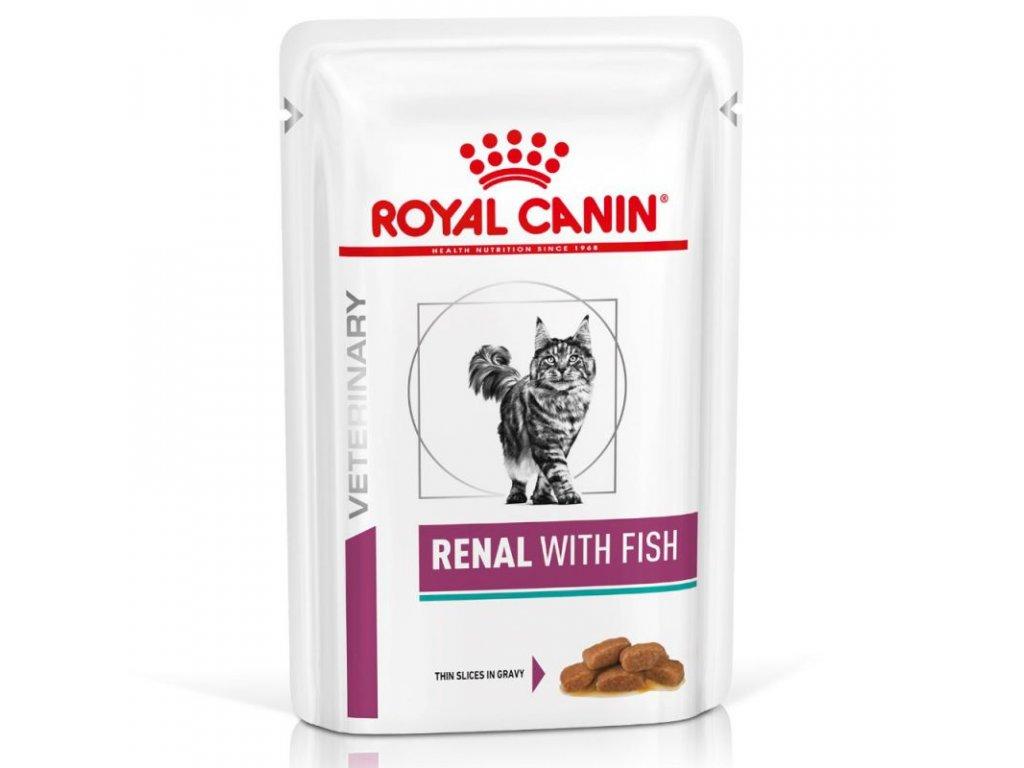 Royal Canin VD Cat Renal tuňák 12x85g