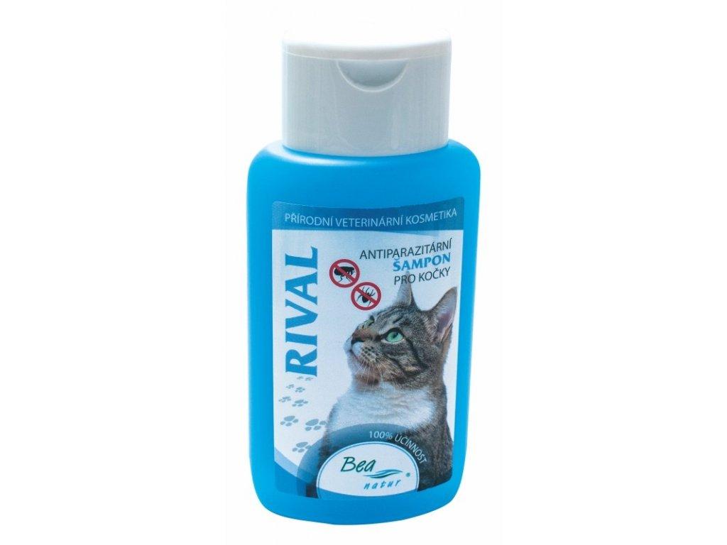 Bea Rival šampon antiparazitní kočka 220ml