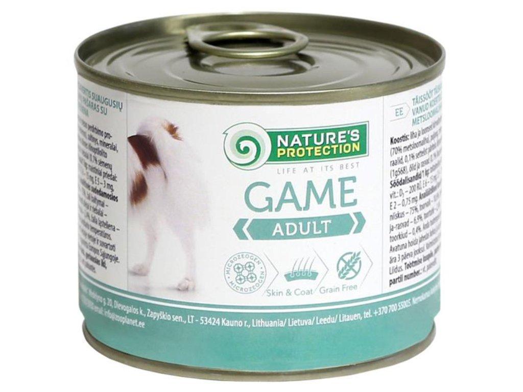 Nature's Protection Dog konz.Adult zvěřina