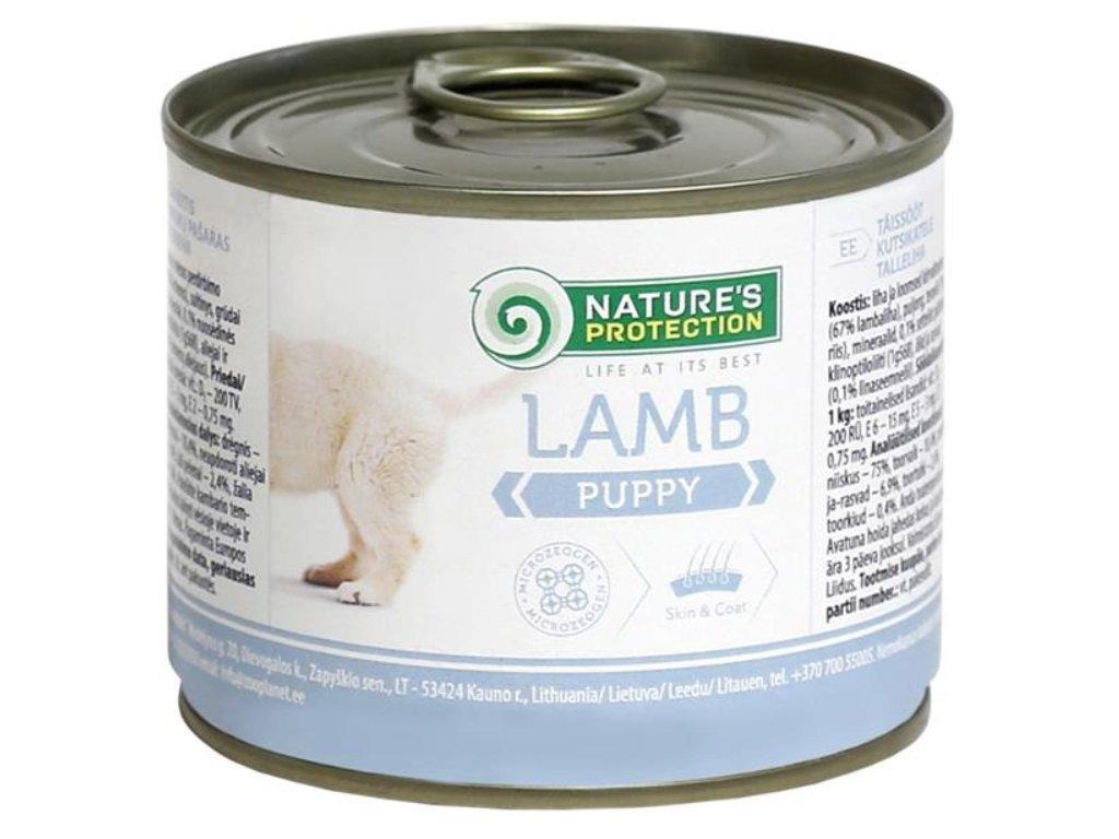Nature's Protection Dog konz.Puppy jehně
