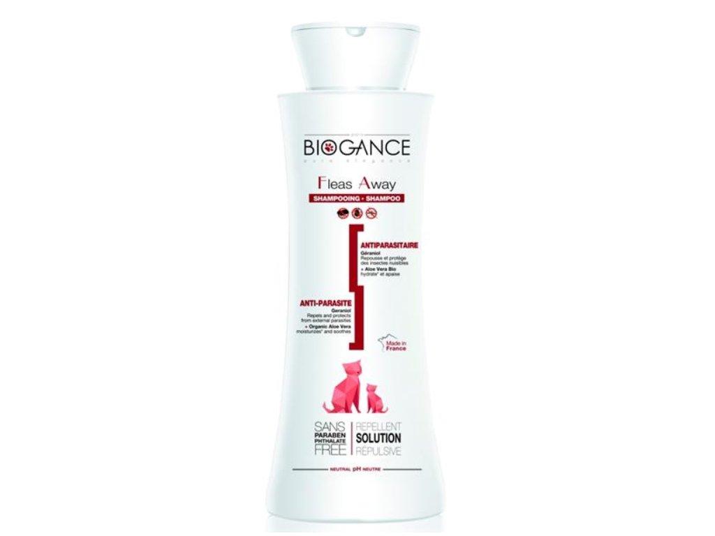 Biogance šampon Fleas away cat - antiparazitní 250ml