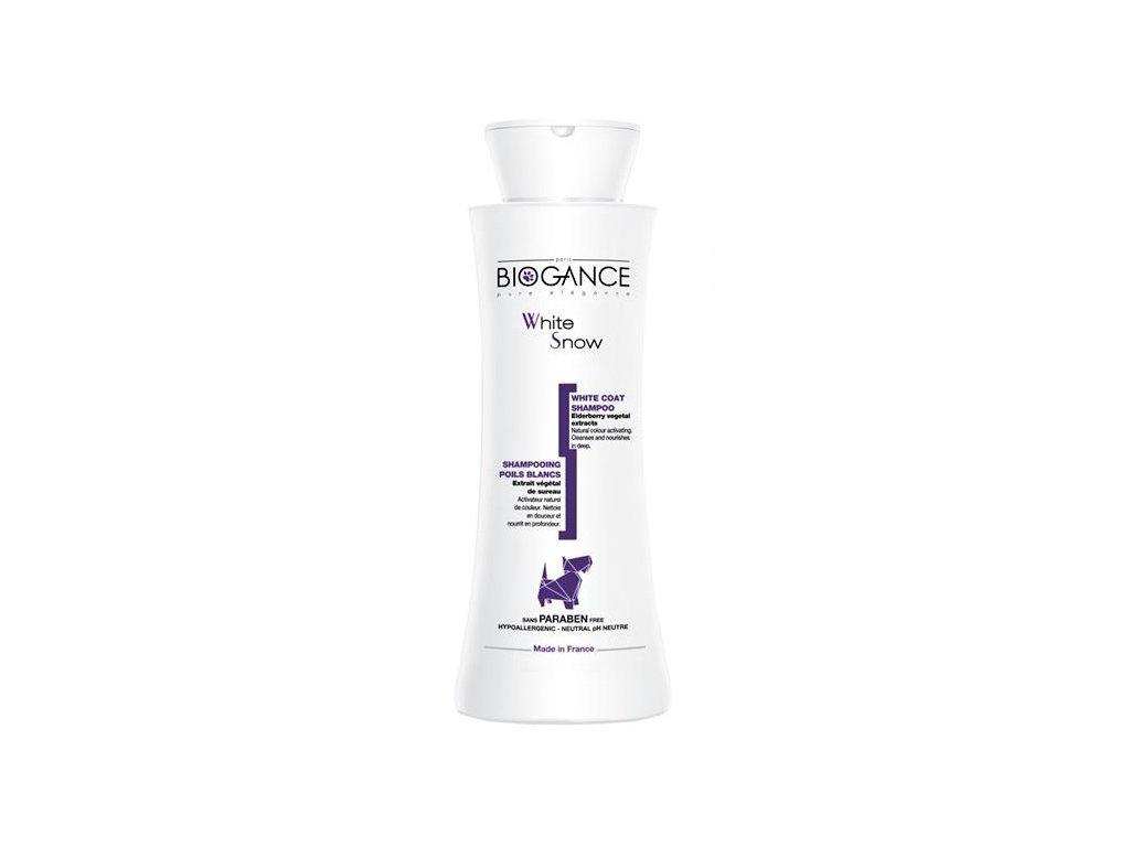 Biogance šampon White snow -pro bílou/světlou srst 250ml